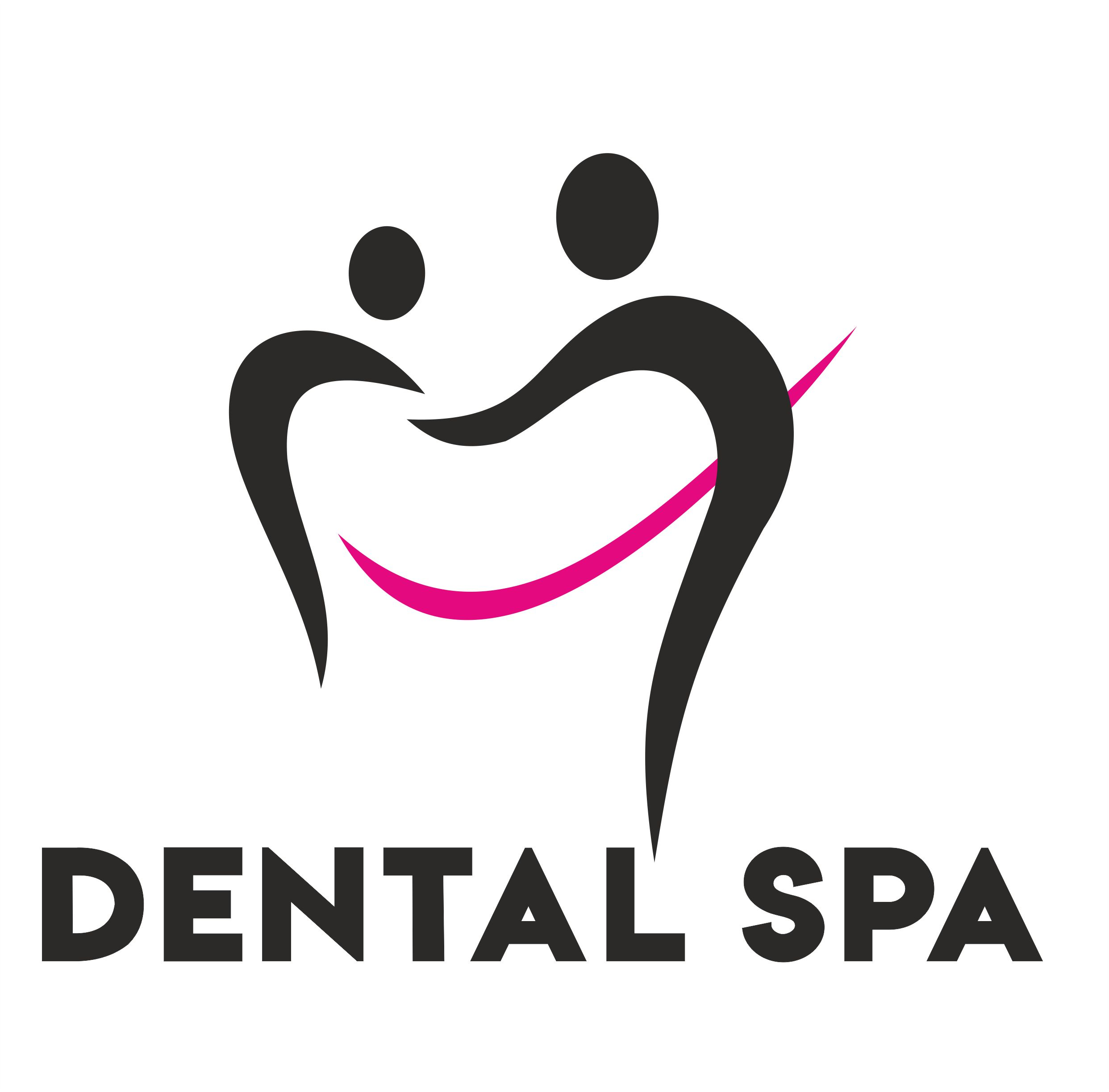 Logo Dental Spa sciana wnetrze 1