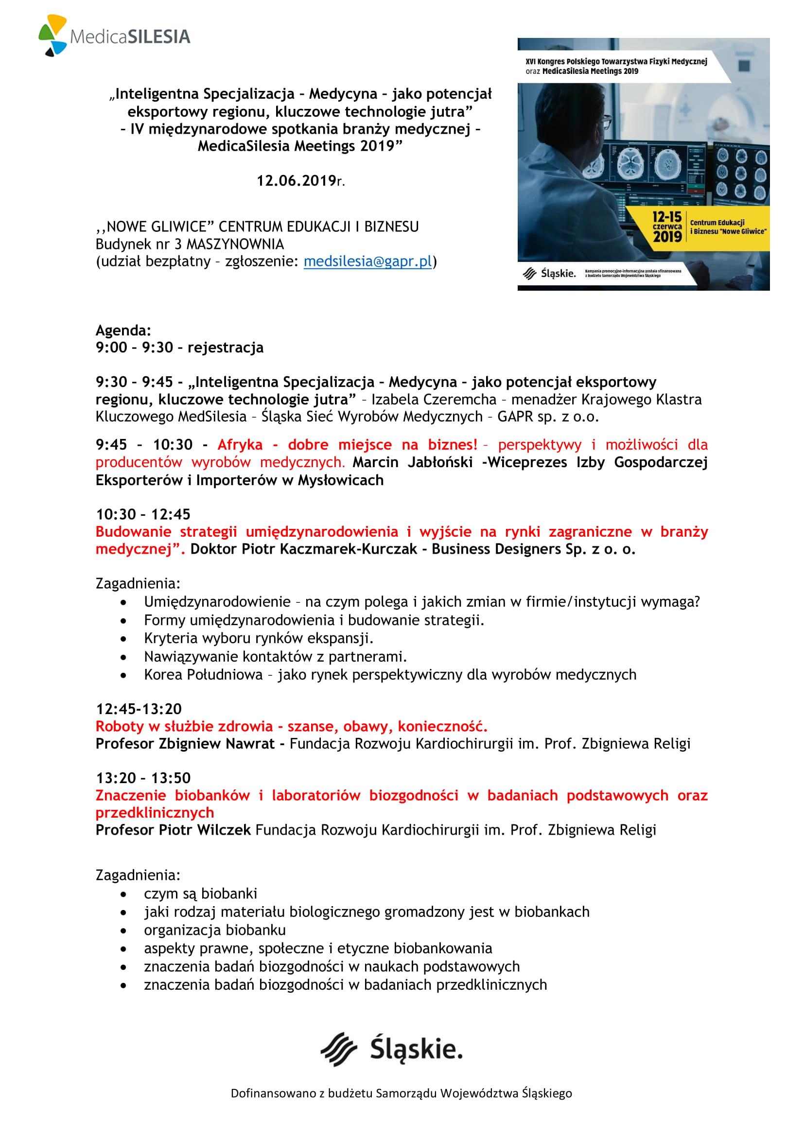 agenda medica 2019 warsztaty 1